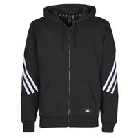 Ruhák Férfi Melegítő kabátok adidas Performance M FI 3S FZ Fekete