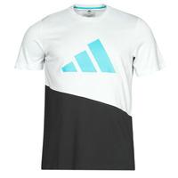 Ruhák Férfi Rövid ujjú pólók adidas Performance FUTURE BLK TEE Fehér / Kristály
