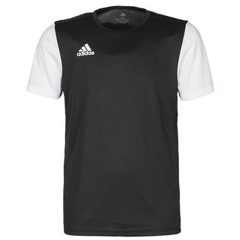 Ruhák Férfi Rövid ujjú pólók adidas Performance ESTRO 19 JSY Fekete