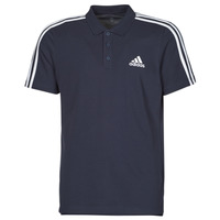 Ruhák Férfi Rövid ujjú galléros pólók adidas Performance M 3S PQ PS Tinta / Legend