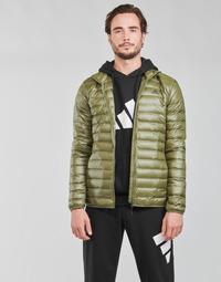 Ruhák Férfi Steppelt kabátok adidas Performance VARILITE JACKET Oliva / Focus