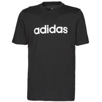 Ruhák Férfi Rövid ujjú pólók adidas Performance M LIN SJ T Fekete