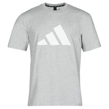 Ruhák Férfi Rövid ujjú pólók adidas Performance M FI 3B TEE Hanga / Szürke / Átlagos