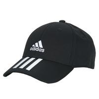 Textil kiegészítők Baseball sapkák adidas Performance BBALL 3S CAP CT Fekete
