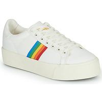 Cipők Női Rövid szárú edzőcipők Gola ORCHID PLATFORM RAINBOW Fehér / Sokszínű