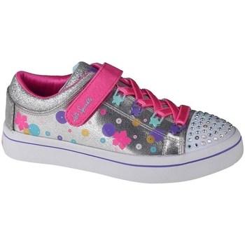 Cipők Gyerek Oxford cipők & Bokacipők Skechers Twilites Ezüst