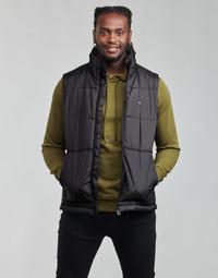 Ruhák Férfi Steppelt kabátok adidas Originals PADDED VEST Fekete