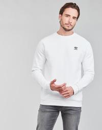 Ruhák Férfi Pulóverek adidas Originals ESSENTIAL CREW Fehér