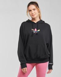 Ruhák Női Pulóverek adidas Originals HOODIE Fekete