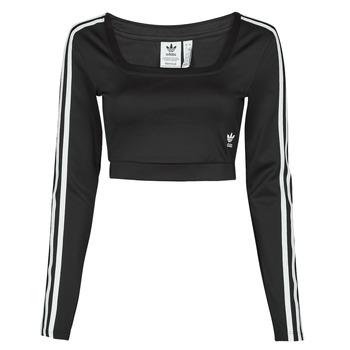 Ruhák Női Hosszú ujjú pólók adidas Originals LONG SLEEVE Fekete