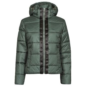 Ruhák Női Steppelt kabátok G-Star Raw MEEFIC HDD PDD JACKET WMN Szürke / Zöld
