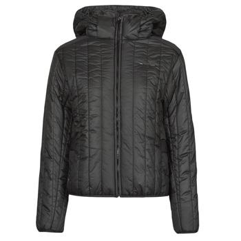Ruhák Női Steppelt kabátok G-Star Raw MEEFIC VERTICAL QUILTED JACKET Fekete