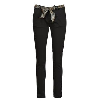 Ruhák Női Chino nadrágok / Carrot nadrágok Le Temps des Cerises LIDY901 Fekete