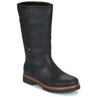 Cipők Női Csizmák Panama Jack BAMBINA Fekete