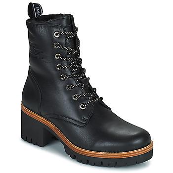 Cipők Női Csizmák Panama Jack PADMA Fekete