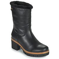 Cipők Női Csizmák Panama Jack PIOLA Fekete