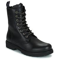 Cipők Női Csizmák Panama Jack FRISIA Fekete