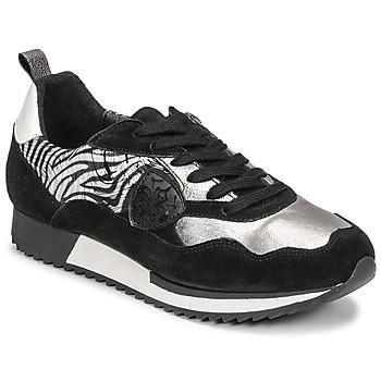 Cipők Női Rövid szárú edzőcipők Philippe Morvan ROX Fekete  / Ezüst