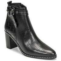 Cipők Női Városi csizmák Philippe Morvan BERRYS Fekete
