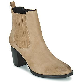 Cipők Női Bokacsizmák Betty London PATIS Bézs