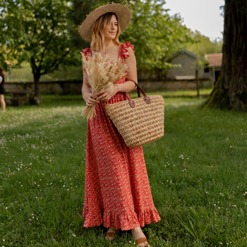 Ruhák Női Hosszú ruhák Céleste AURORE version courte Piros