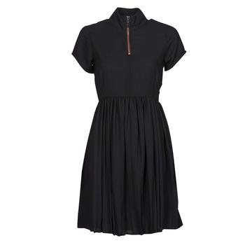 Ruhák Női Rövid ruhák Volcom DOTSABILLY DRESS Fekete