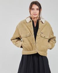 Ruhák Női Kabátok / Blézerek Volcom WEATON JACKET Bézs
