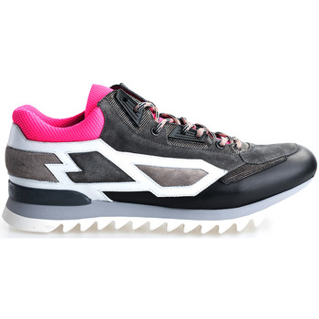 Cipők Férfi Rövid szárú edzőcipők Les Hommes  Szürke