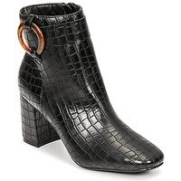 Cipők Női Bokacsizmák Moony Mood PULIA Fekete