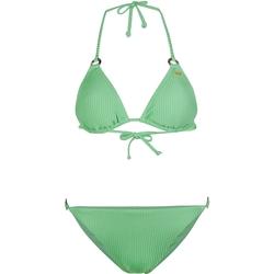 Ruhák Női 2 részes fürdőruhák O'neill Capri Bondey Fixed Set Zöld