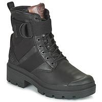 Cipők Női Csizmák Palladium PALLABASE TACT STR L Fekete