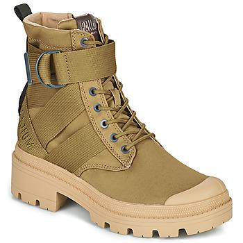 Cipők Női Csizmák Palladium PALLABASE TACT S TX Zöld