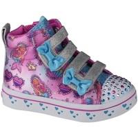 Cipők Gyerek Magas szárú edzőcipők Skechers Twilites Mermaid Gems Rózsaszín