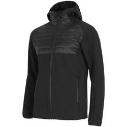 Ruhák Férfi Kabátok 4F KUMH060 Fekete