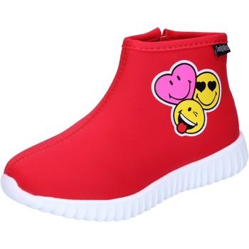 Cipők Lány Bokacsizmák Smiley Bokacsizma BJ990 Piros