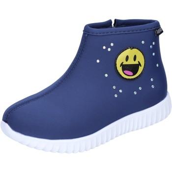 Cipők Lány Bokacsizmák Smiley Bokacsizma BJ991 Kék
