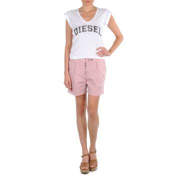 Ruhák Női Rövidnadrágok Diesel HANTU Rózsaszín