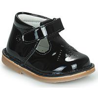 Cipők Lány Balerina cipők  Citrouille et Compagnie OTAL Fekete