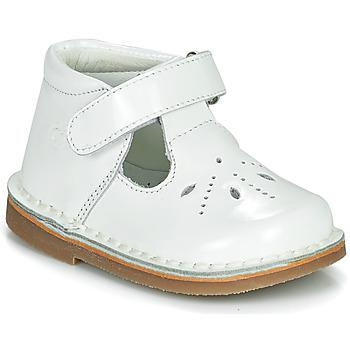 Cipők Lány Balerina cipők  Citrouille et Compagnie OTALI Fehér / Fényes