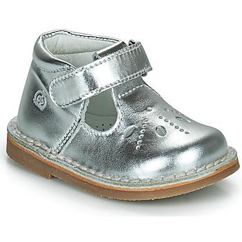 Cipők Lány Balerina cipők  Citrouille et Compagnie OTAL Ezüst