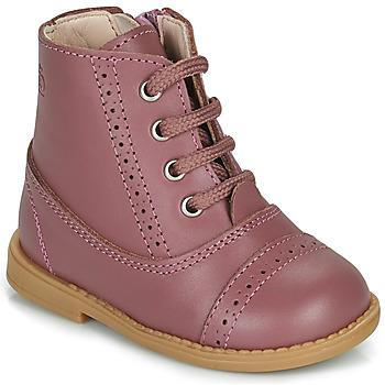 Cipők Lány Csizmák Citrouille et Compagnie PUMBAE Rózsaszín