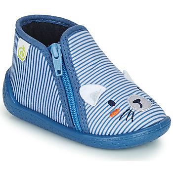 Cipők Fiú Mamuszok Citrouille et Compagnie PASTA Kék