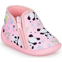Cipők Lány Mamuszok Citrouille et Compagnie PIFOU Rózsaszín