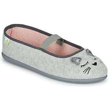 Cipők Lány Mamuszok Citrouille et Compagnie PASTALDENTE Szürke