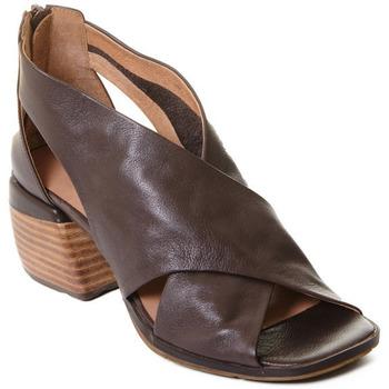 Cipők Női Szandálok / Saruk Rebecca White T0409 |Rebecca White| D??msk?? kotn??kov?? boty z telec?? k??e v k??vo