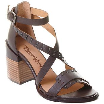 Cipők Női Félcipők Rebecca White T0501 |Rebecca White| D??msk?? sand??ly na vysok??m podpatku z telec??