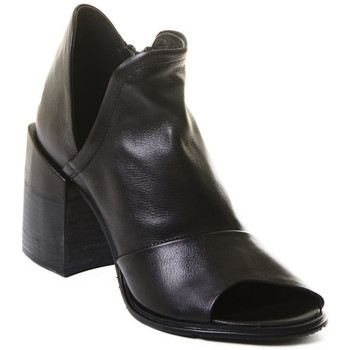Cipők Női Bokacsizmák Rebecca White T0504 |Rebecca White| D??msk?? kotn??kov?? boty z ?ern?? telec?? k??e,