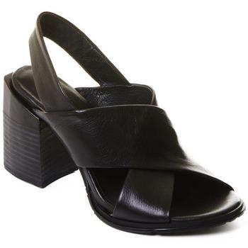 Cipők Női Bokacsizmák Rebecca White T0507 |Rebecca White| Elegantn?? ?ern?? kotn??kov?? boty z telec?? k??