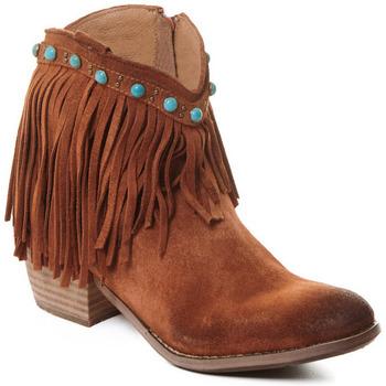 Cipők Női Bokacsizmák Rebecca White T0601A |Rebecca White| D??msk?? ko?en?? kotn??kov?? boty s podpatkem v