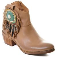Cipők Női Bokacsizmák Rebecca White T0605 |Rebecca White| D??msk?? ko?en?? kotn??kov?? boty s blokov?m pod